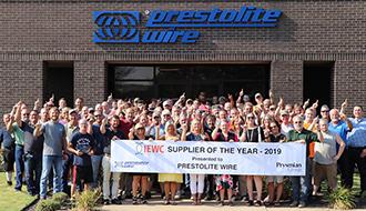 Prestolite Wire – Supplier of the Year 2019